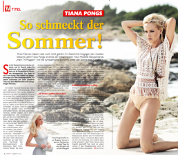 Tiana Pongs - TV Magazin