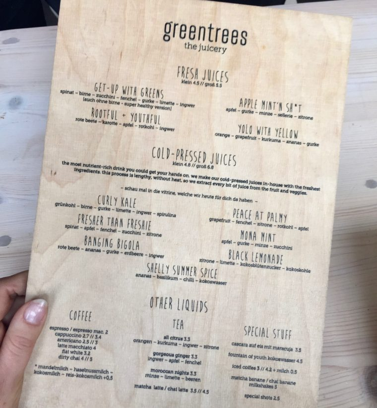 Tiana Pongs greentrees the juicery düsseldorf