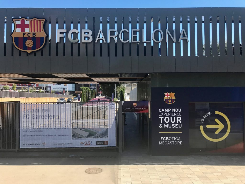 Barcelona FCB Camp Nou by Tiana Pongs