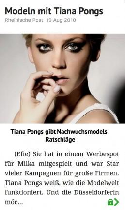 Tiana Pongs - Rheinische Post