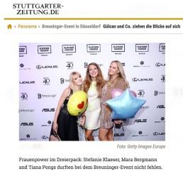 Tiana Pongs - Stuttgarter Zeitung
