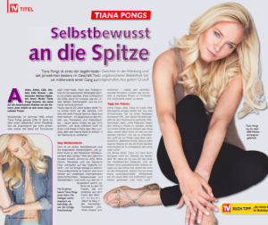 Tiana Pongs - TV Magazin